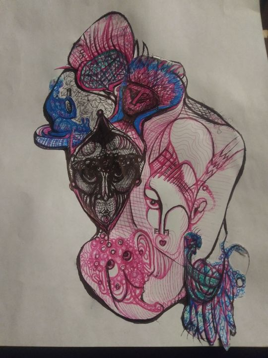 Familial demons - Art of Joan frances fisher