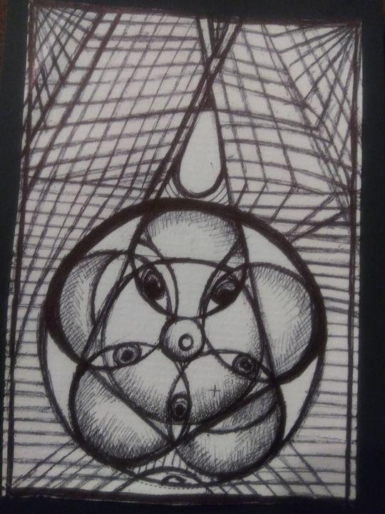 Sacred geometey 5 - Art of Joan frances fisher
