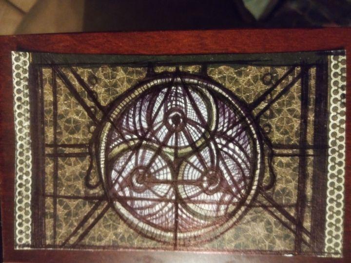Sacred geometry 1 - Art of Joan frances fisher