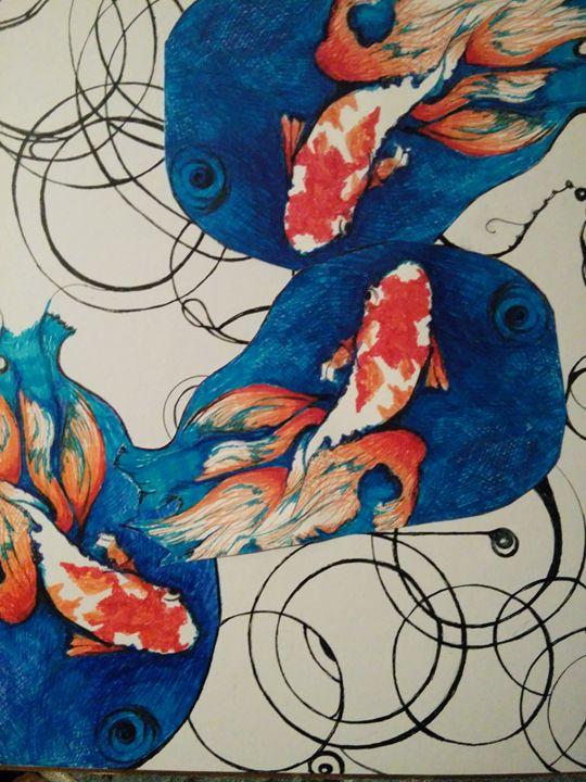 FishFlow - Art of Joan frances fisher