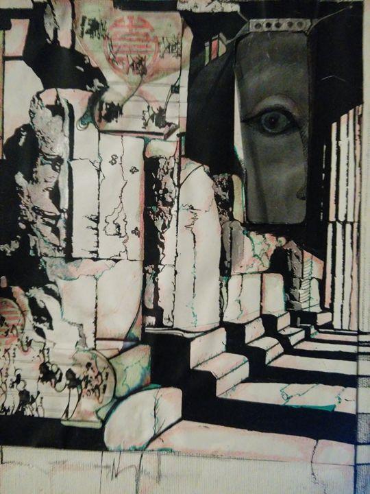 Interdimensional consciousness - Art of Joan frances fisher
