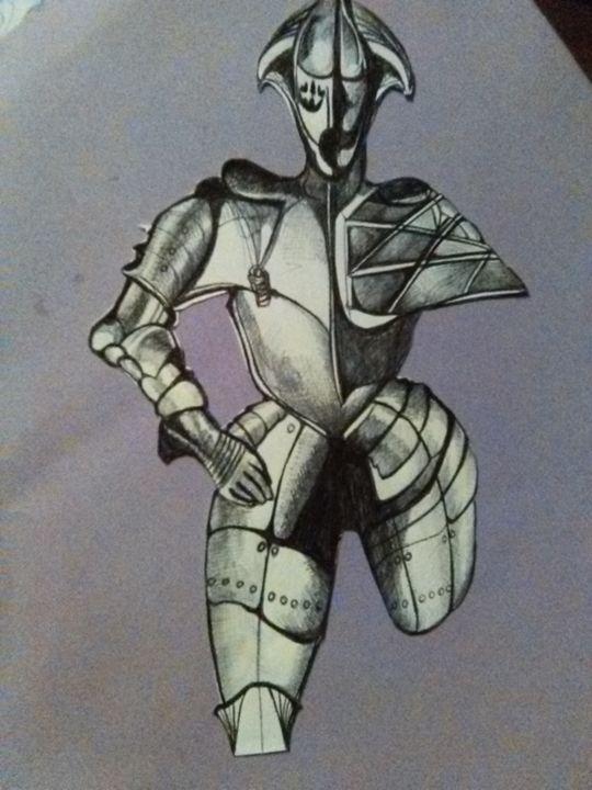 Crippling armor - Art of Joan frances fisher