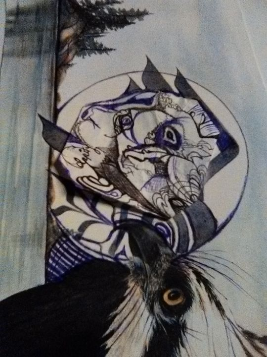 eagle spirit - Art of Joan frances fisher