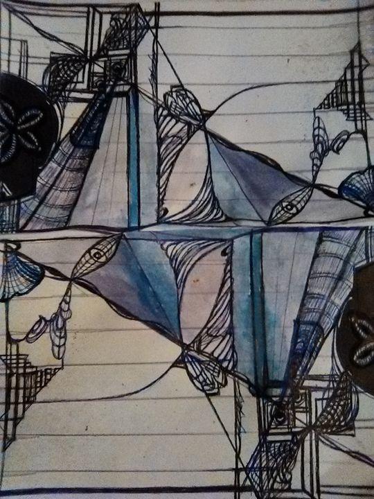 attractors - Art of Joan frances fisher