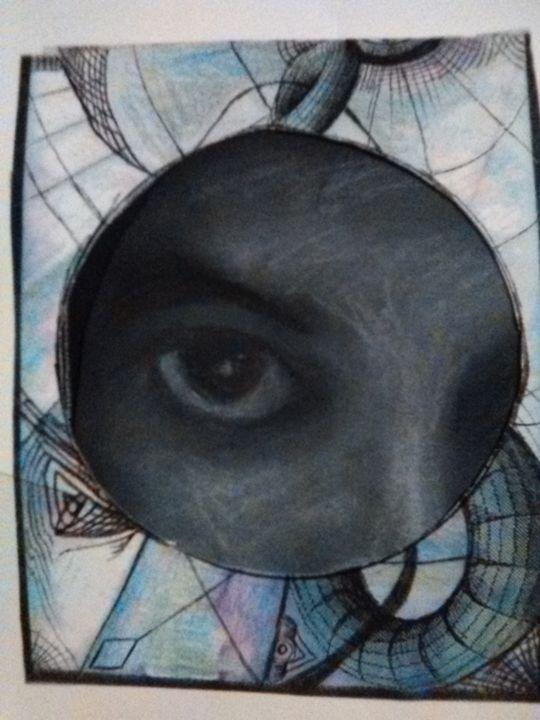 Iinterdimensional consciousness II - Art of Joan frances fisher