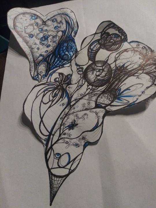 Cosmic bouquet - Art of Joan frances fisher