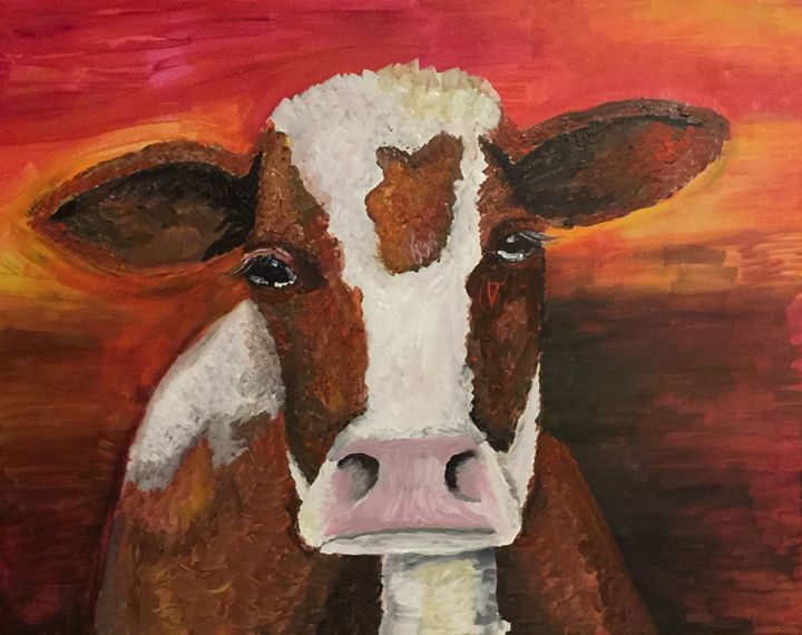 Sad Day on the Farm - AcrylicArtistry