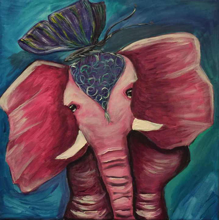 The Elephant in the Room - AcrylicArtistry