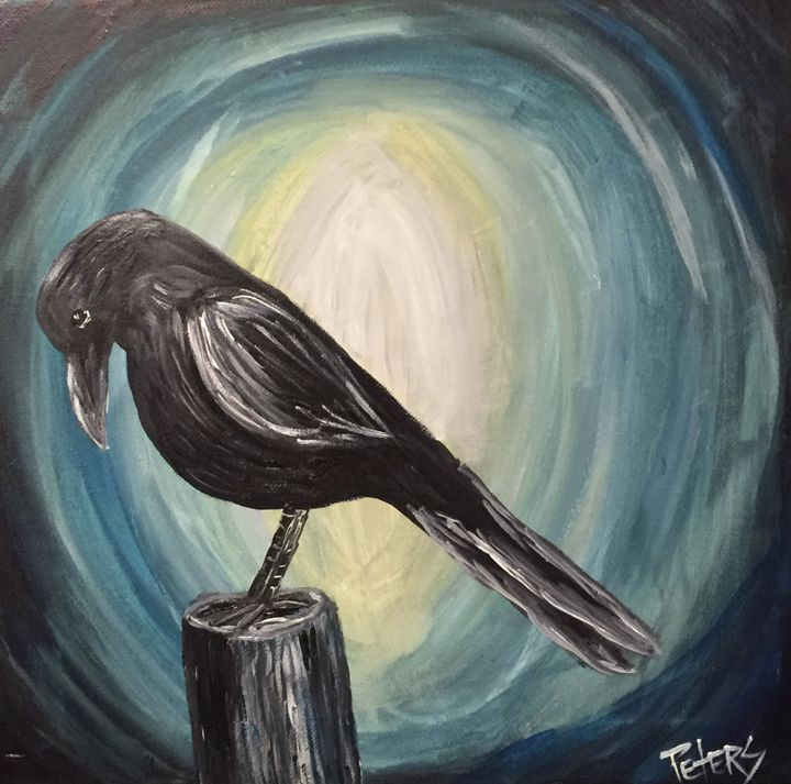 The Raven - AcrylicArtistry