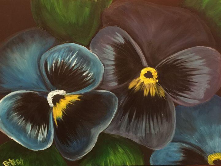 Grandma's Garden - AcrylicArtistry
