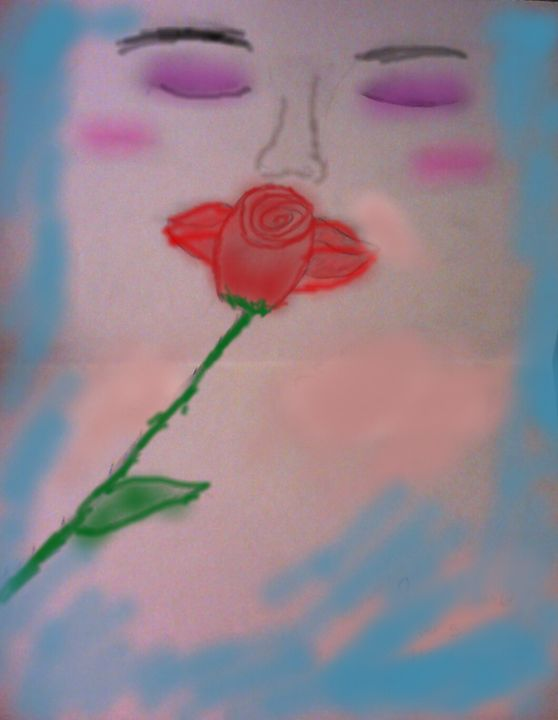 roses kiss - furball1980
