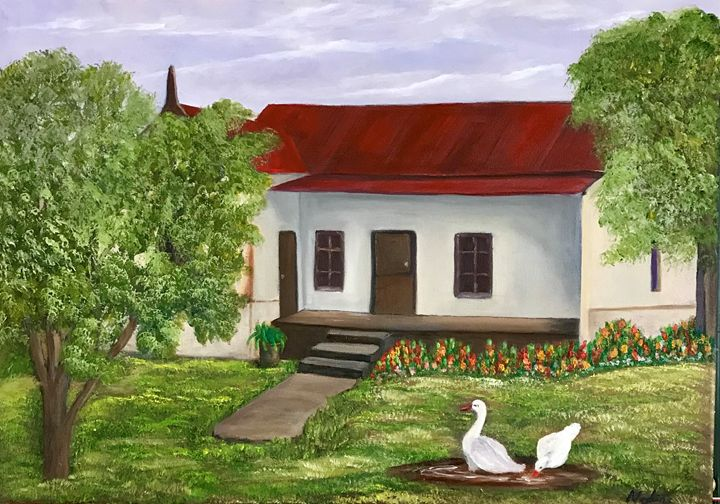Farm House - NOELINE'S ART GALLERY