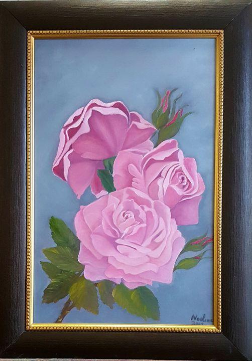 Pink roses - NOELINE'S ART GALLERY