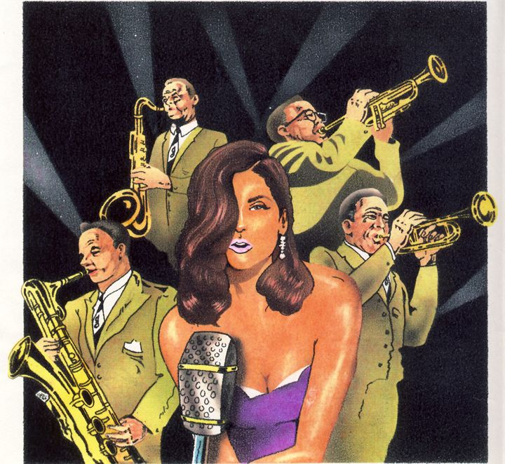 Big Band and Guest Singer - Michel St.Pierre