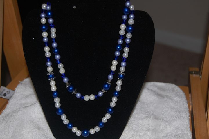 two layered necklace - My creations