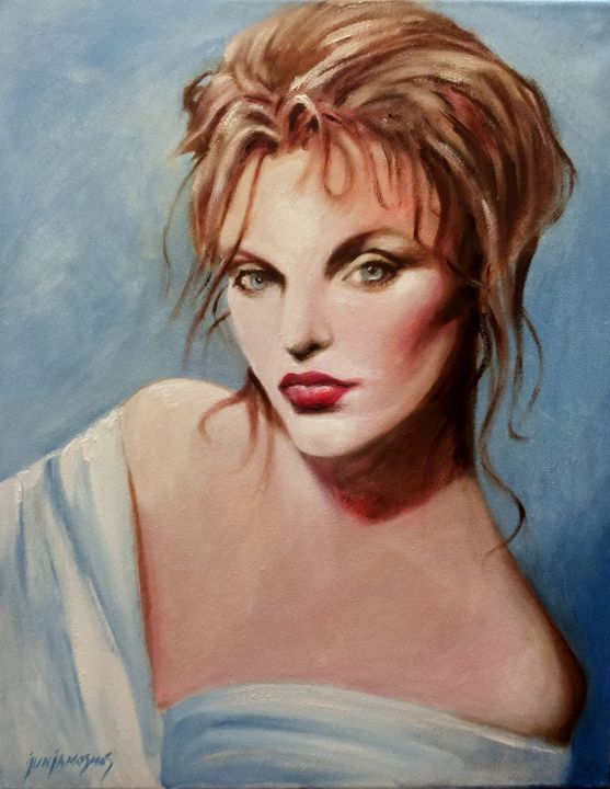 THE DIVA (ARIELLE DOMBASLE) - JUN JAMOSMOS FINE ART