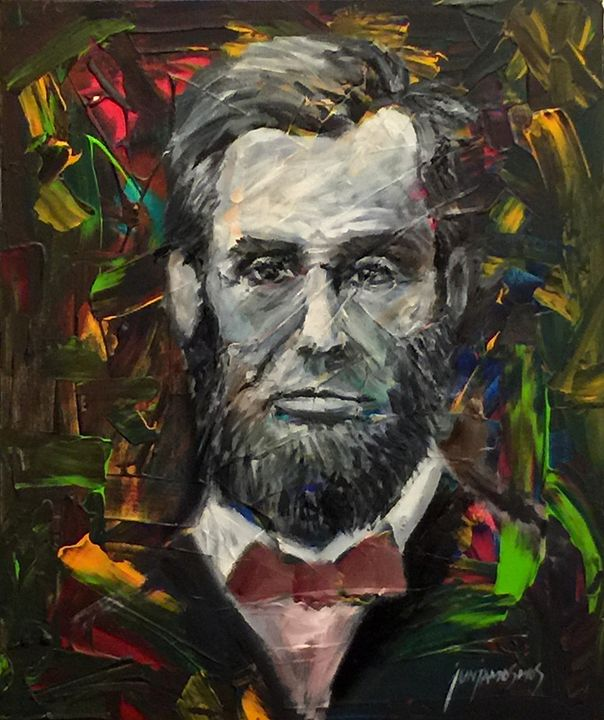 MR. PRESIDENT (ABRAHAM LINCOLN) - JUN JAMOSMOS FINE ART