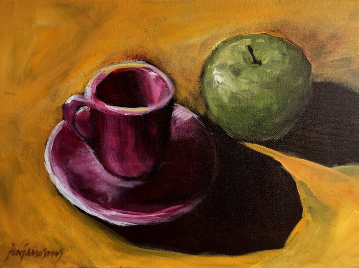 THE GREEN APPLE - JUN JAMOSMOS FINE ART
