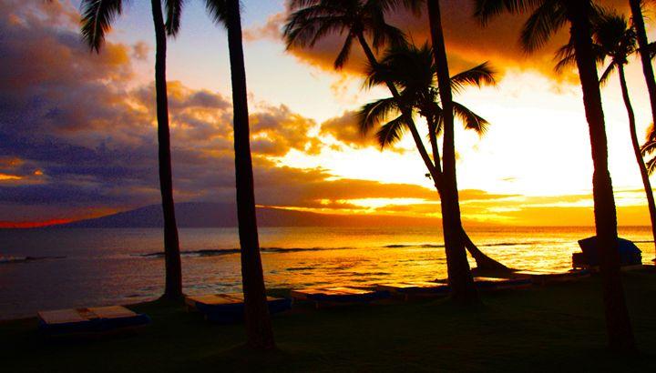 Another Maui Sunset - John Dauer Photography