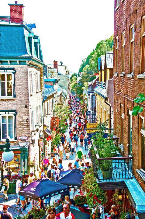 Quebec Streets - John Dauer Photography