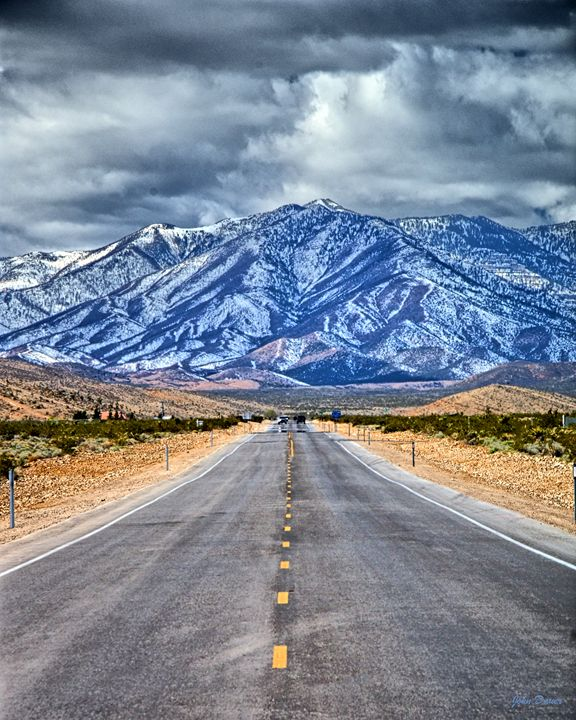 Down The Road - John Dauer Photography