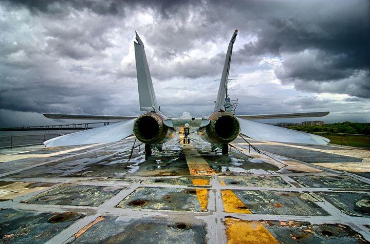 On The Deck - John Dauer Photography