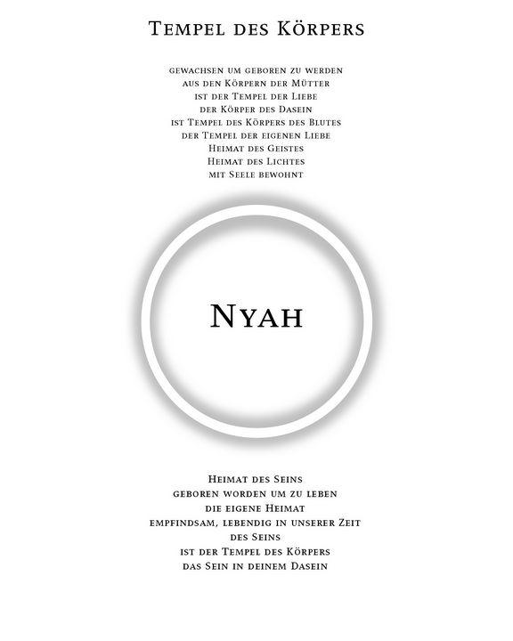 Tempel des Körpers - Nyah