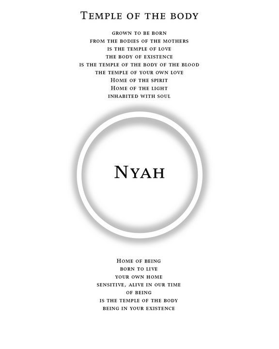 Temple of the body - Nyah