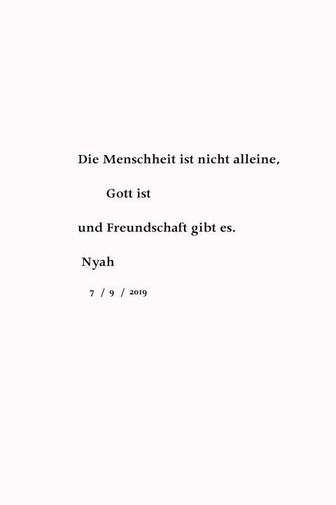 nyah_Die Menschheit - Nyah