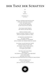 Nyah - Gedicht - der Tanz der Schatt