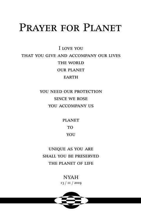 Prayer for Planet - Nyah