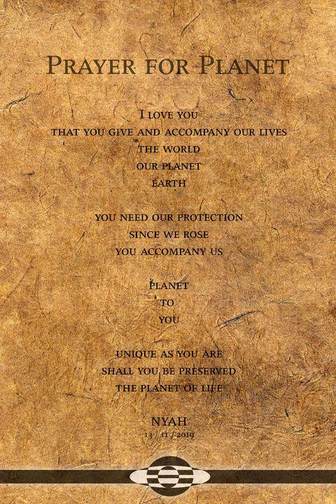 Prayer for Planet_paper - Nyah