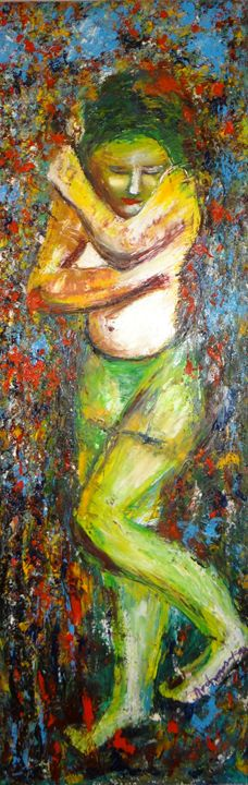 "woman - Archana Santra""s painting"