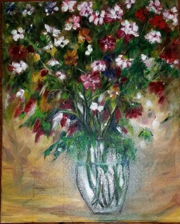 "flower - Archana Santra""s painting"