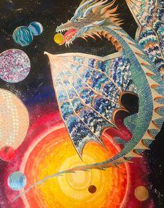 Dragon Chasing Planets