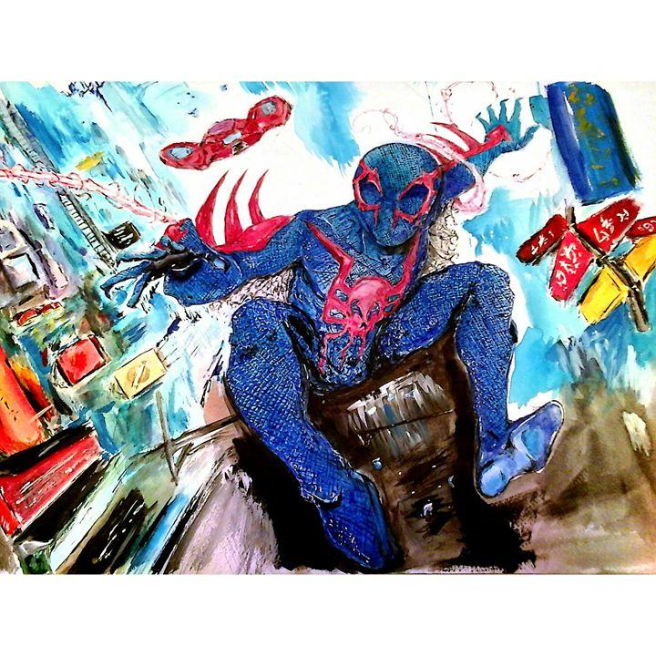 spiderman 2099 - Raushan