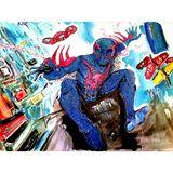 Spiderman 2099 painting