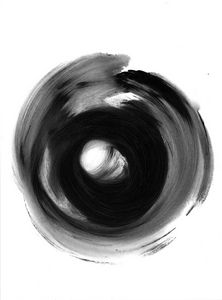 Black white abstraction 004 - Anastasia Vasilyeva Art