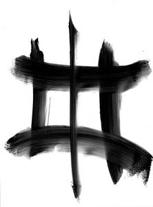 Black white abstraction 005 - Anastasia Vasilyeva Art