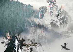SAMURAI DRAGON MOUNTAIN