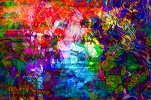 CHINESE GHOST STORY 3D ABSTRACT