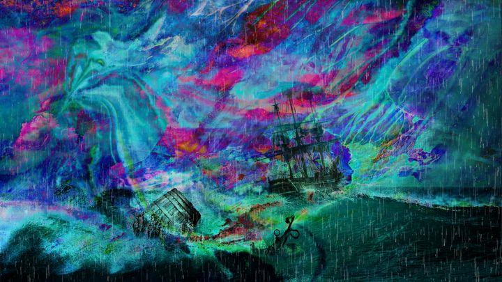 3D STORM ART PRINTS - MODERN ART PRINTS SALE 3D ARTWORK 3D ART PICTURES
