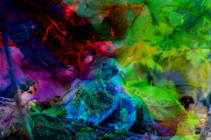 3D KOALA ART PRINTS - MODERN ART PRINTS SALE 3D ARTWORK 3D ART PICTURES