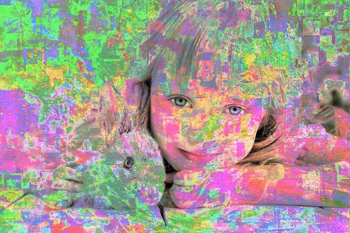 3D RABBIT ART PRINTS - MODERN ART PRINTS SALE 3D ARTWORK 3D ART PICTURES