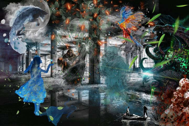 3D BEAUTIFUL ART PRINTS - MODERN ART PRINTS SALE 3D ARTWORK 3D ART PICTURES