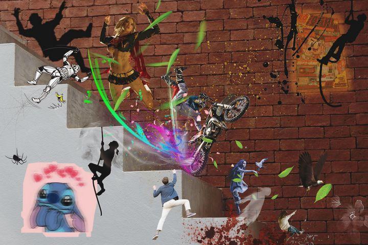3D LUCKY ART PRINTS - MODERN ART PRINTS SALE 3D ARTWORK 3D ART PICTURES