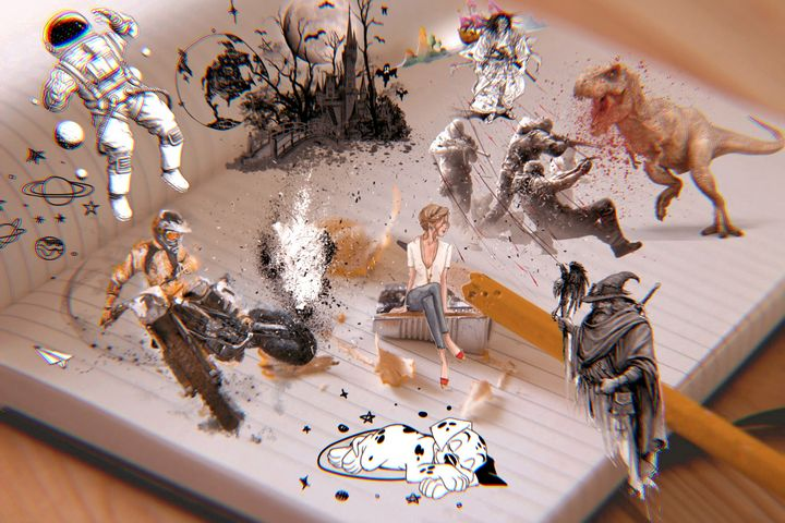 3D SKETCH ART PRINTS - MODERN ART PRINTS SALE 3D ARTWORK 3D ART PICTURES