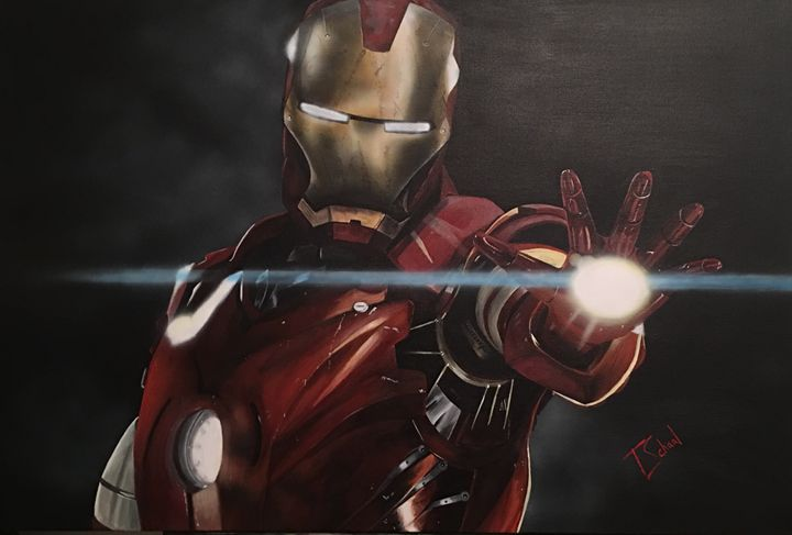IRONMAN - Artwork by Tracy