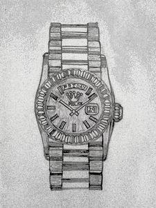 Rolex Original Sketch