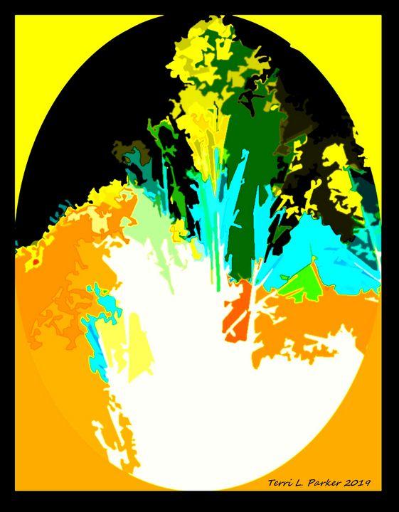 Yellow Landscape 1 - Artgal Creations